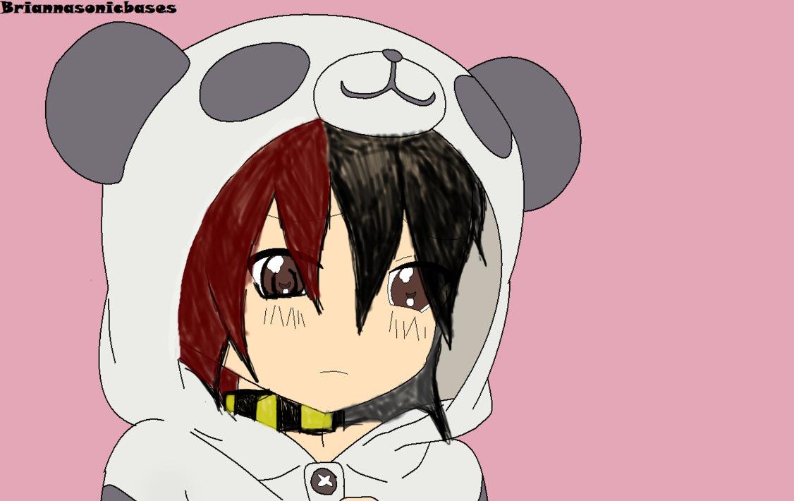 panda emo girl by - photo #2