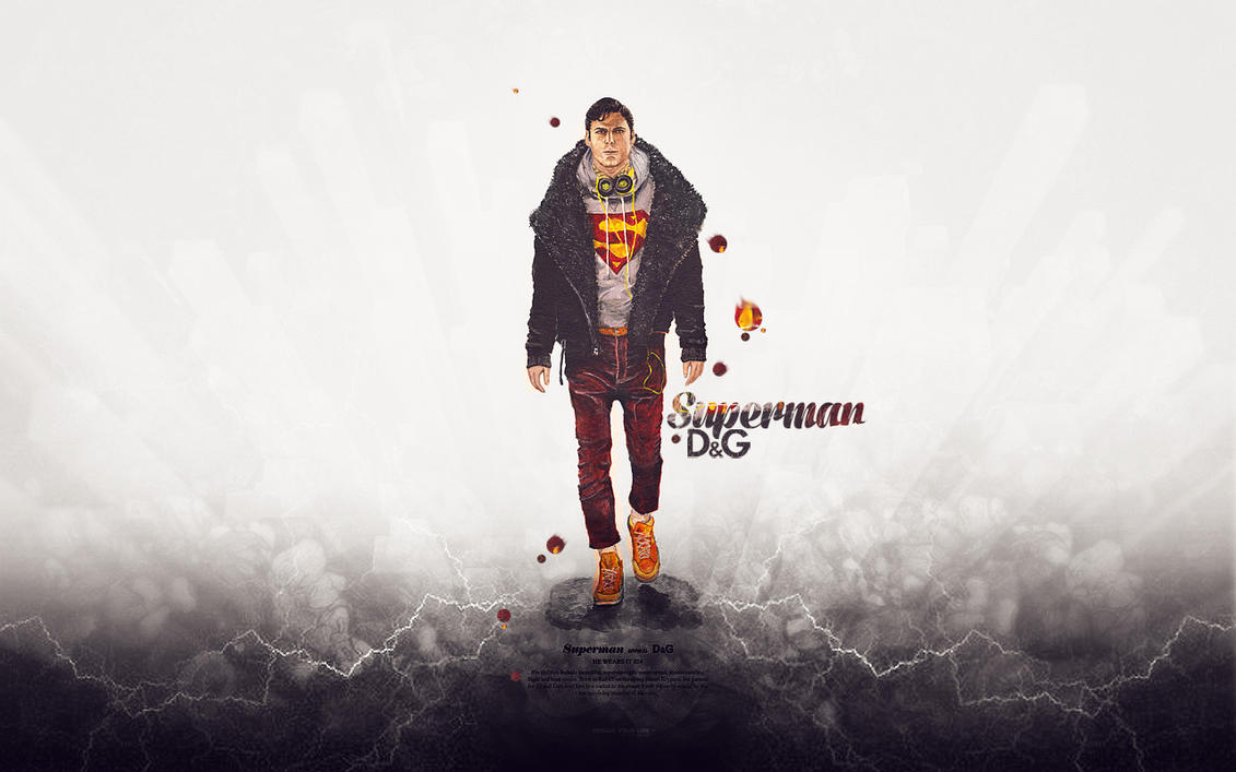 Superman wears D@G 02 by meta625