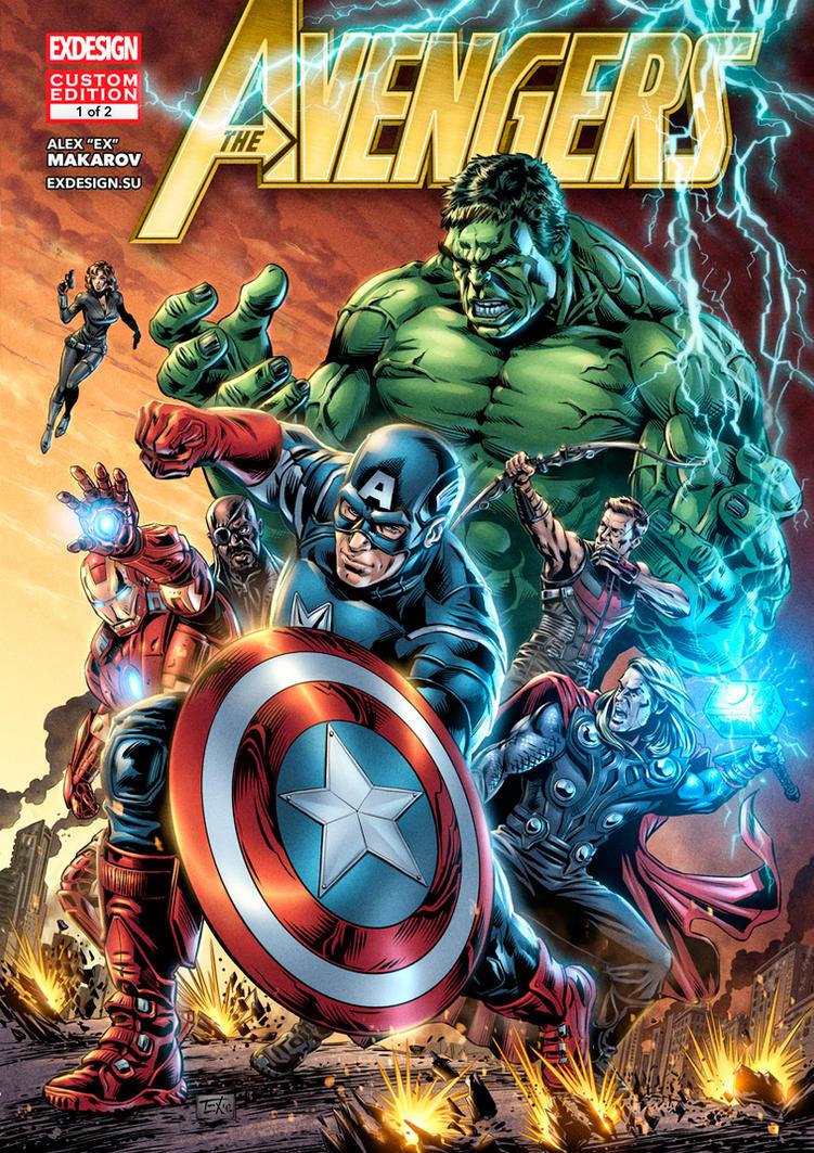 Avengers Assembled by aka-EX