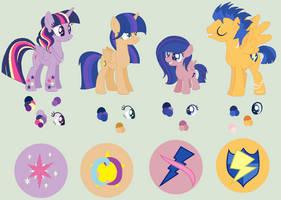 FlashLight Family by princessunicorn123
