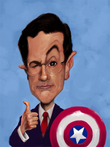 Stephen Colbert by rico3244