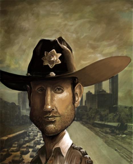 Sheriff Rick Grimes by ~rico3244