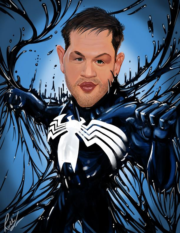 Tom Hardy Venom by rico3244