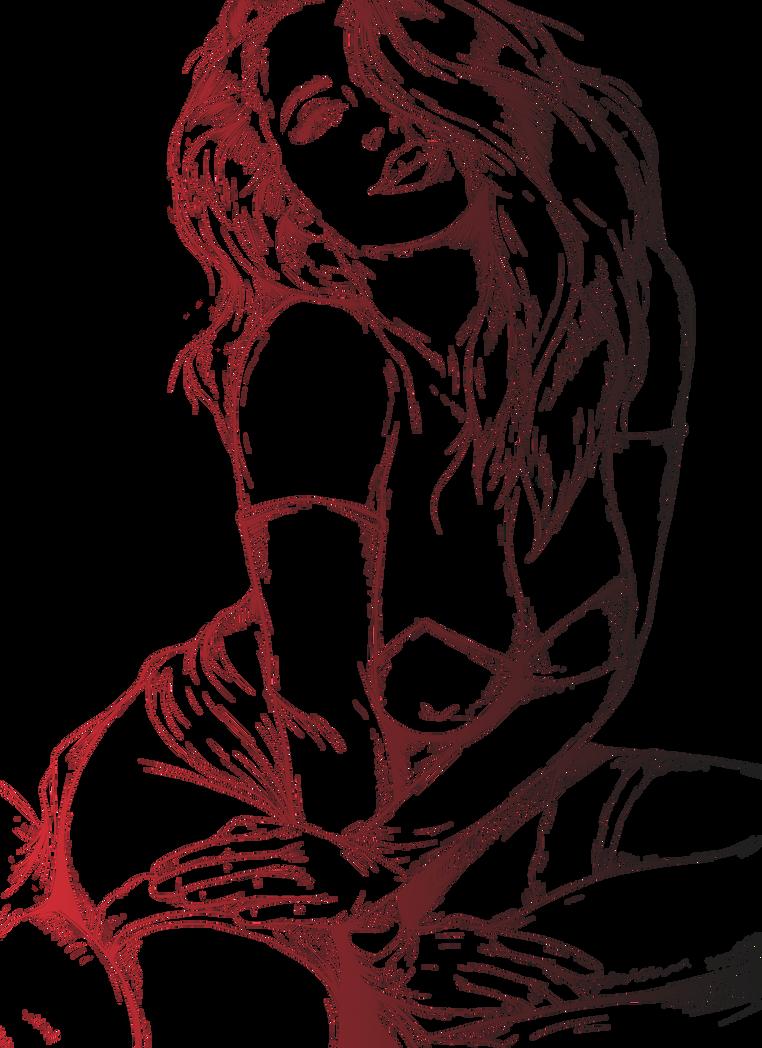 Line Drawing Rabbit : Jessica rabbit line png by skmdron on deviantart