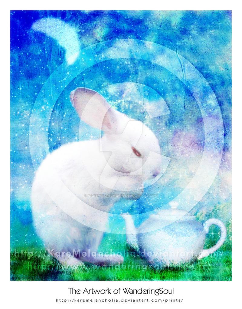 Ah, My bunny by karemelancholia