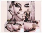 Secrets Bracelet and Pendant by karemelancholia