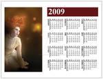 2009 Magnet Calendar Poussiere by karemelancholia