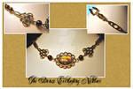 Bronze Everlasting Necklace by karemelancholia