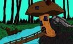 Mushroom House (Color)