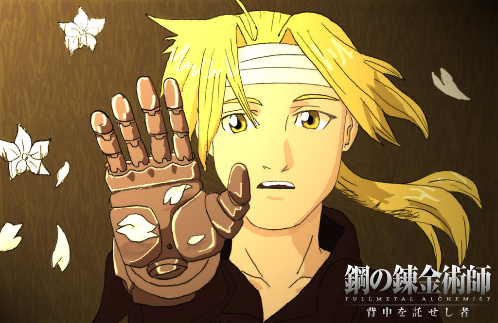 Edward Elric by lordnickage