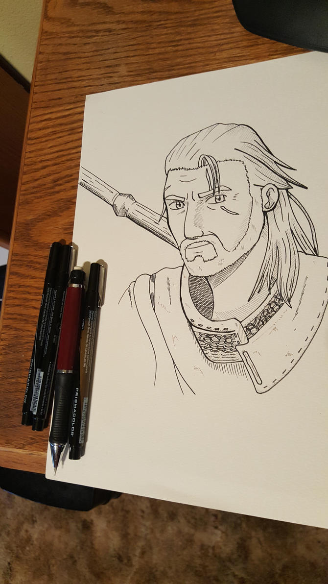 Geralt by lordnickage