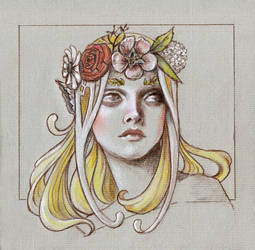 Silmarillion - Yavanna by LaurenCherry