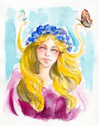 Vana (concept) - Silmarillion by LaurenCherry