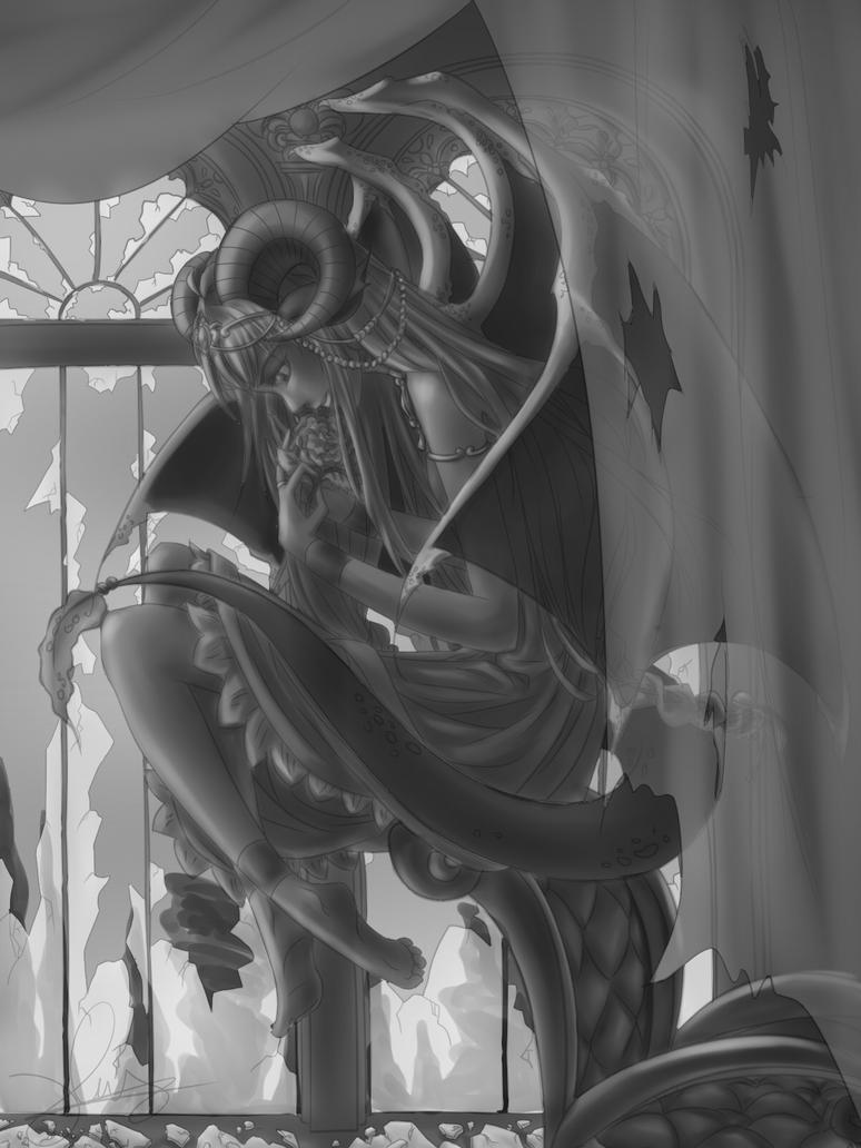 Gargoyle Princess by Yuumira