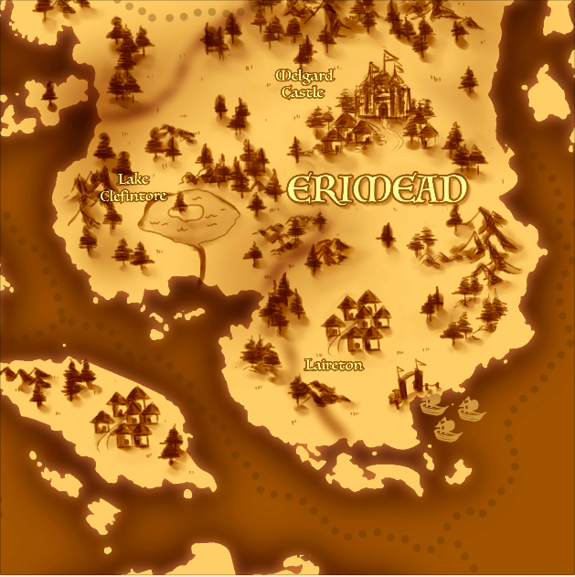 Erimead Map by Yuumira