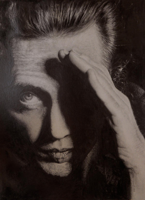 Christopher Walken by Stu-mo