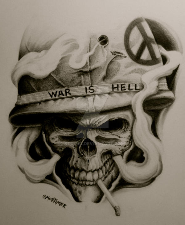 War is Hell by Stu-mo