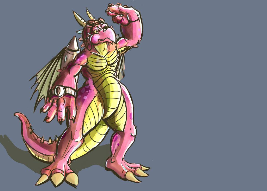 Dragon pilot by ThatWhiteFox