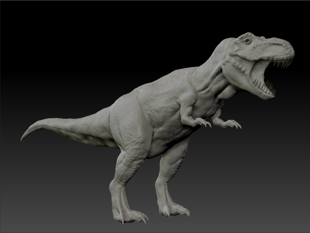 Normal Tyrannosaurus Rex by ThatWhiteFox