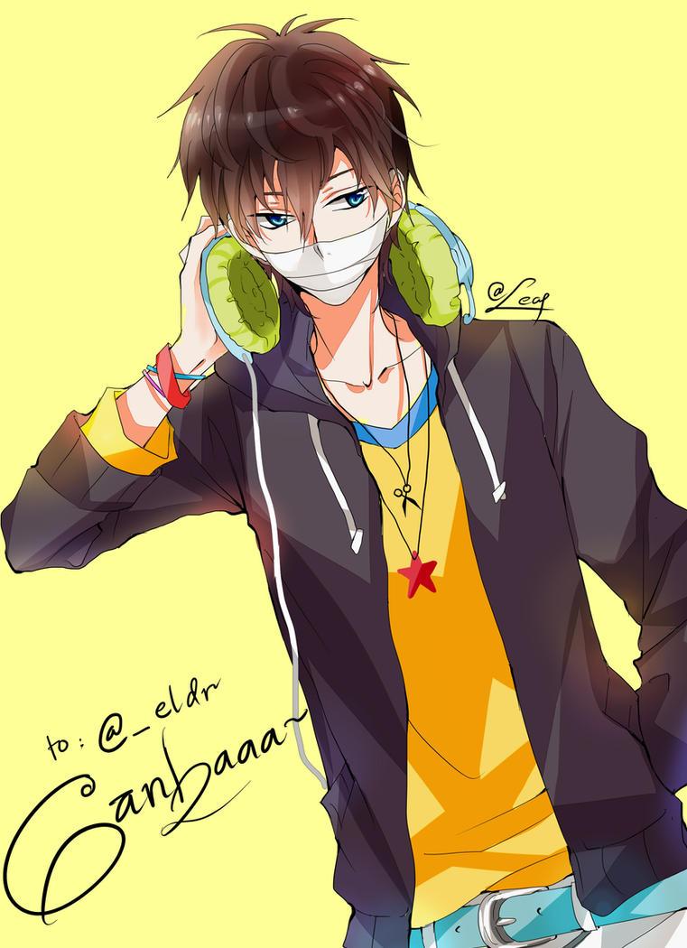 Brown hair anime guy tumblr