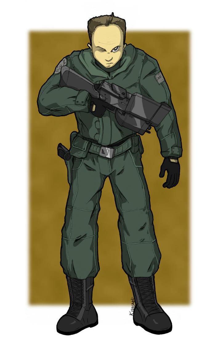 Urban Soldier by kehlan