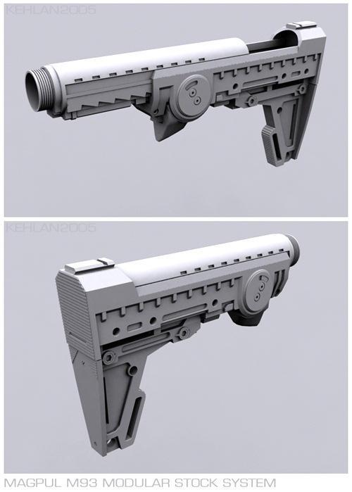 M4A1 Stock by kehlan