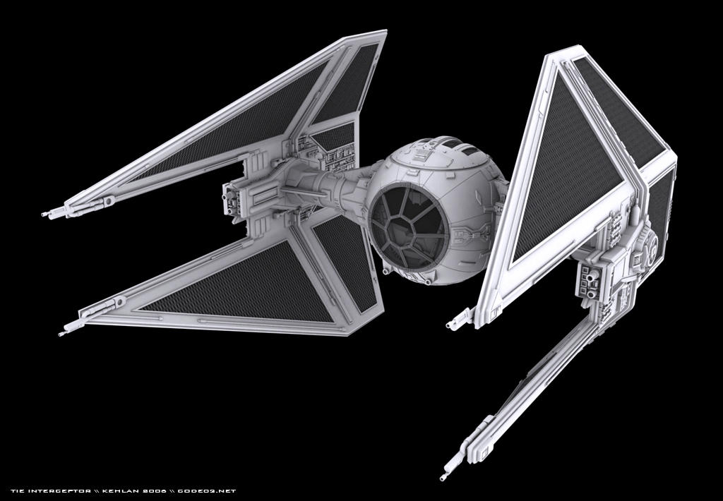 Star Wars Tie interceptor by kehlan