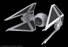 Star Wars Tie interceptor by kehlan