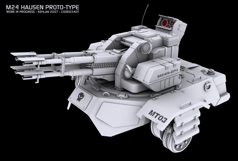 M24 Hausen Proto-type by kehlan