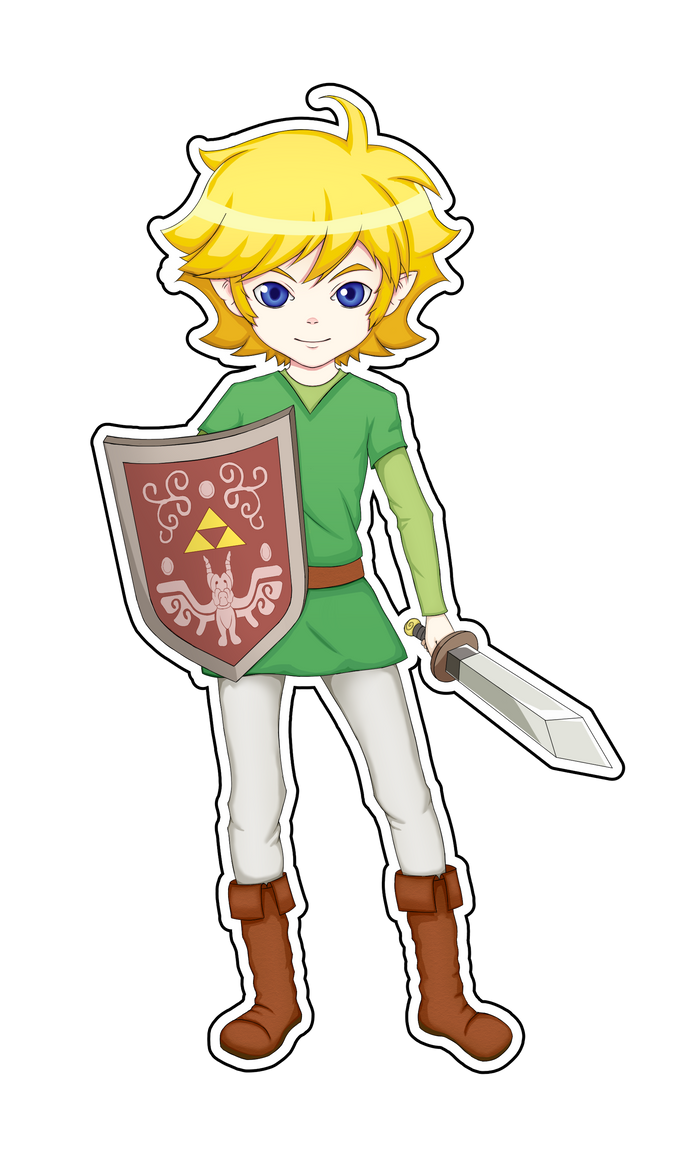 Link~ The Minish Cap by Braisse01