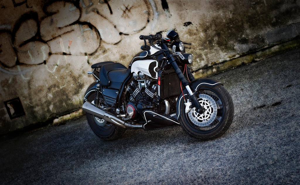 Yamaha V MAX Tuning By UniqueProject