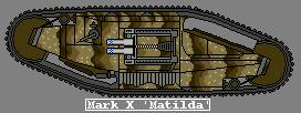 "Mark X Tank ""Matilda"" by GratefulReflex"