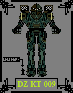 DZ-KT-009 Knight by GratefulReflex