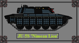 JU5S Medium Tank Nimean Lion by GratefulReflex