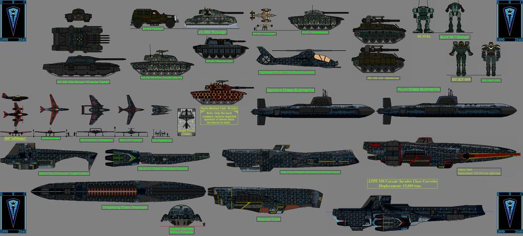 The SSC Lineup by GratefulReflex
