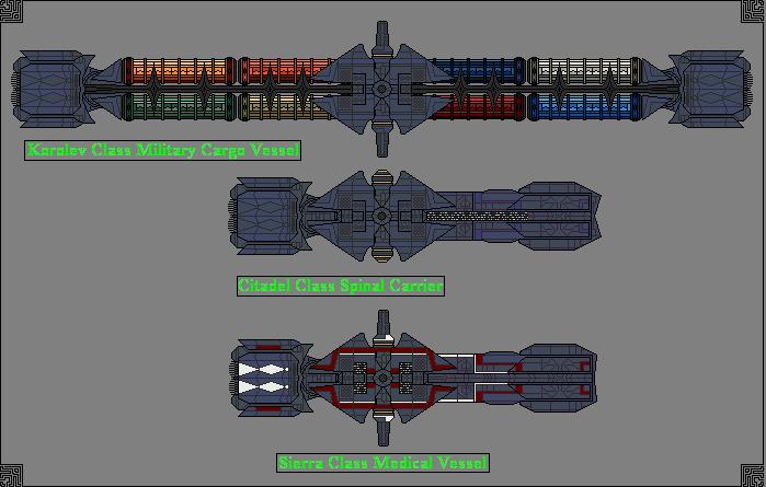 Territorial Navy Vessels by GratefulReflex