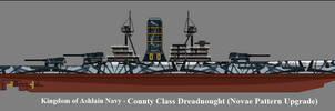 County Class Dreadnought (Novae Pattern Upgrade)