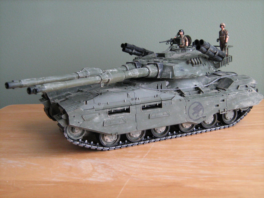 Mammoth Tank Weathered by Defibulator