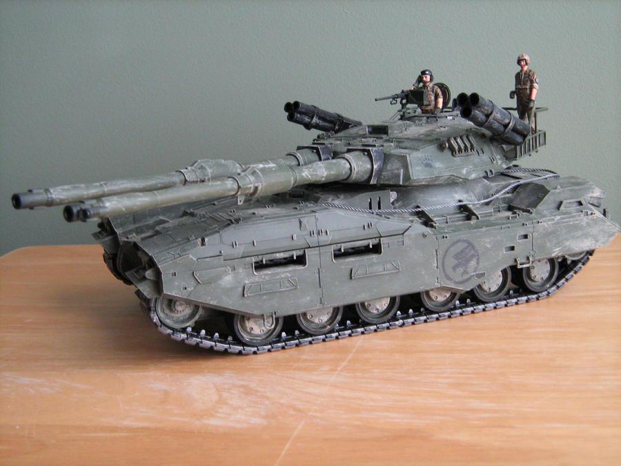 Mammoth Tank Weathered by Defibulator