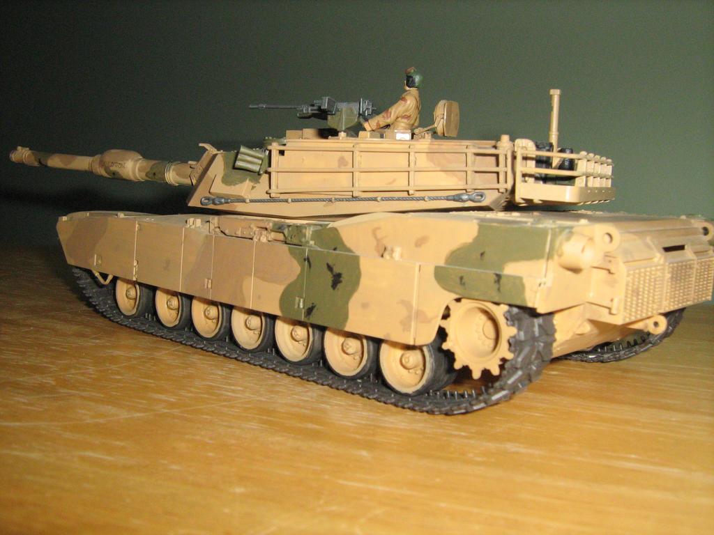 GDI M1 Abrams by Defibulator