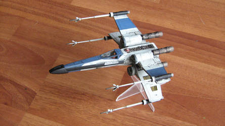 Bandai T65 X-wing by Defibulator