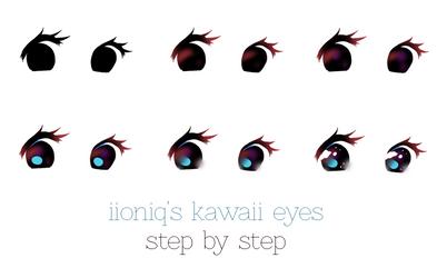 kawaii eyes by iioniq