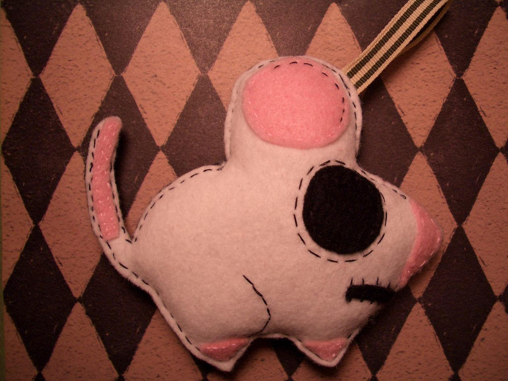 matt 136 rat plushie by me by alteredboxes