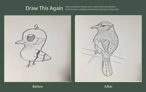 Draw This Again Contest - Bird by cookies-x