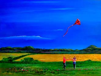 Kite Flyers by Julian-S-Wright