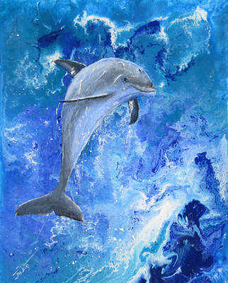 Dolphin by Julian-S-Wright