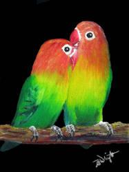 Lovebirds by Julian-S-Wright