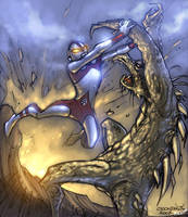 Ultraman by raulman