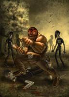 Reydiablo vs emo-zombies by raulman
