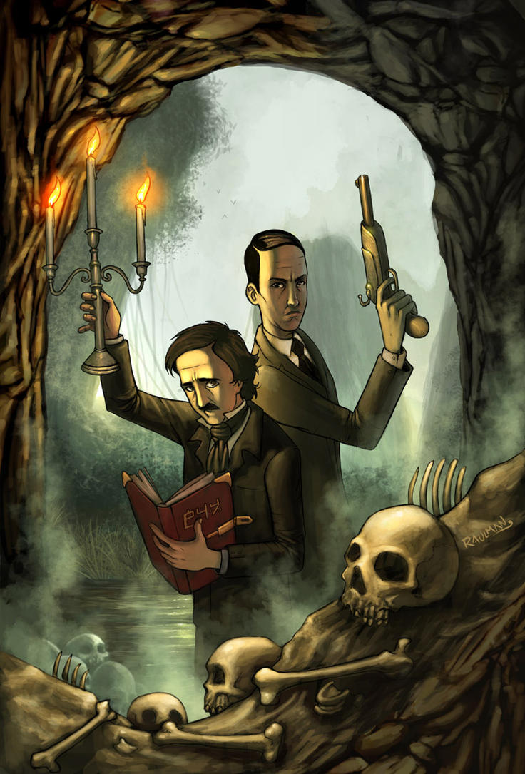 Poe and Phillips by raulman